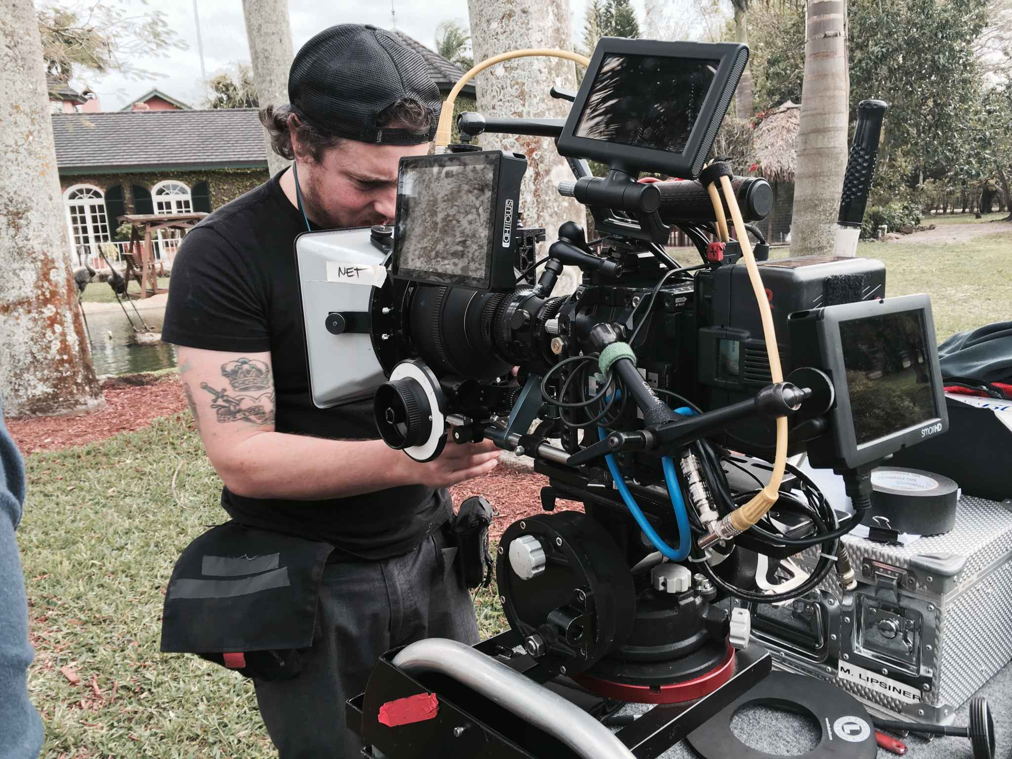 red epic camera package